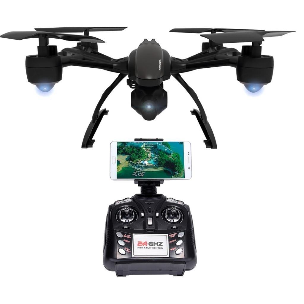 Квадрокоптер JXD 509W 30 0мм HD WiFi камера черный (JXD 509W)