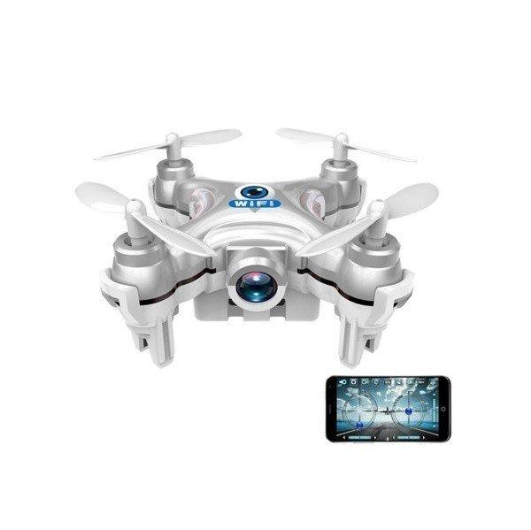 Нано квадрокоптер Cheerson Wi-Fi с камерой серый (CX-10Wg)