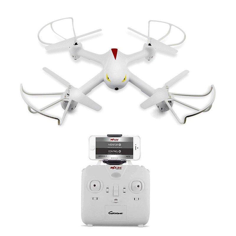 Квадрокоптер MJX X708W 315 мм WiFi камера белый (MJX X708W white)