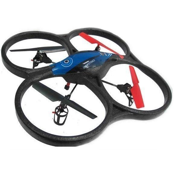 Квадрокоптер на р/у 2.4GHz WL Toys V606 Cyclone Mini синий