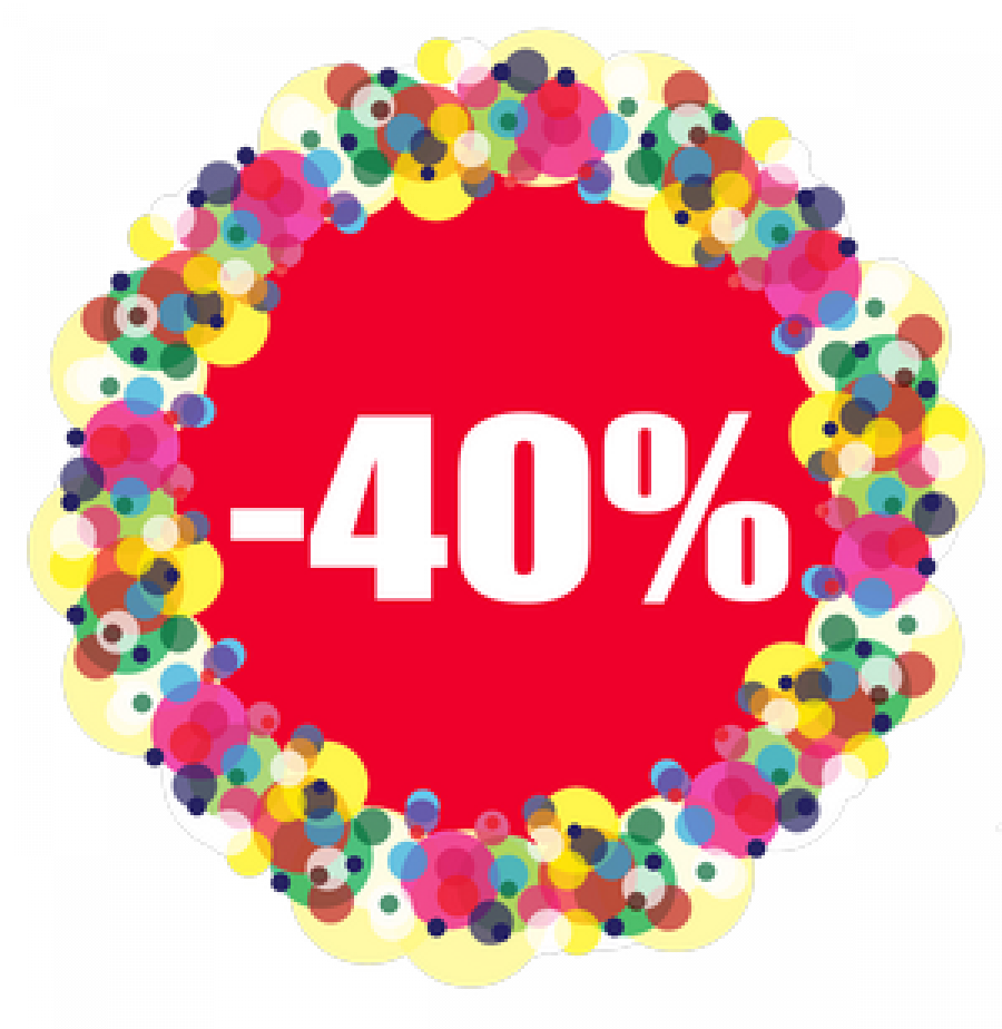 Скидка 40% на первый кредит